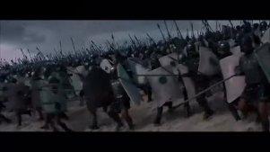 《特洛伊》片段:两军对战 阿基里斯的弟弟代哥战死沙场