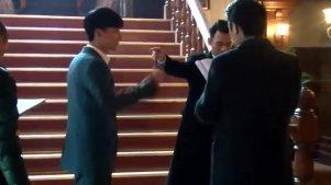 伪装者胡歌靳东王凯集体斗舞 三个男人也能凑一台戏啊