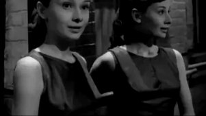 电影里奥黛丽赫本芭蕾舞片段,那个时代最惊艳的明星