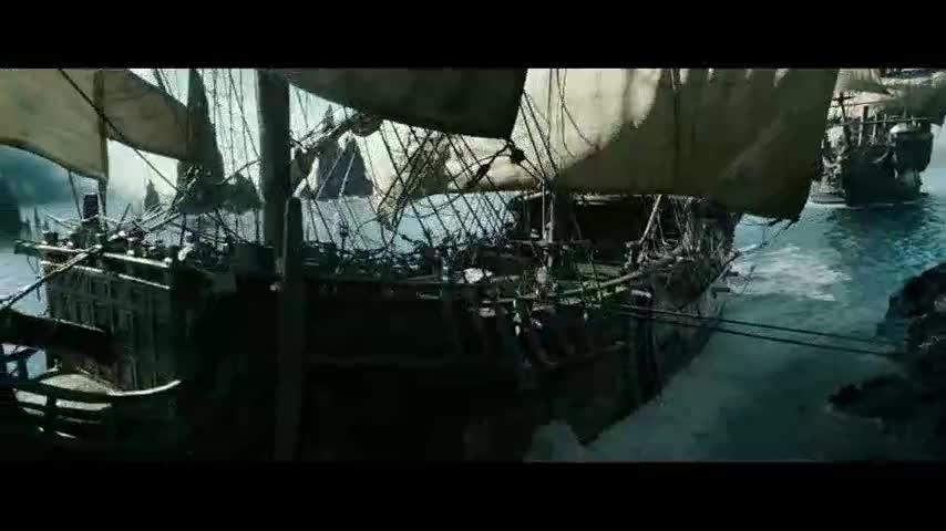 加勒比海盗5 中文版剧场预告片